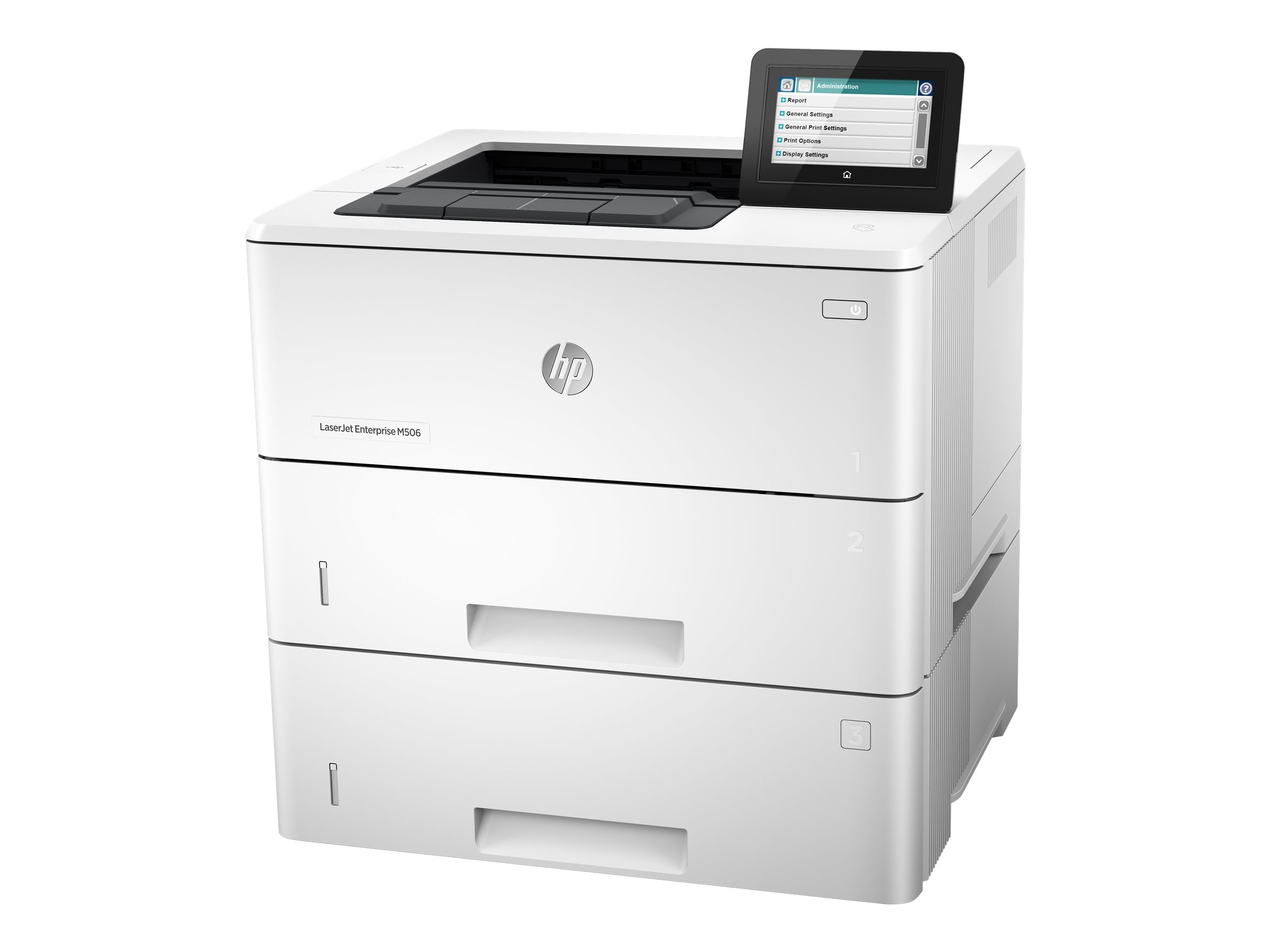 HP LaserJet Enterprise M506x Printer, F2A70A#BGJ, 30006420, Printers - Laser & LED (monochrome)