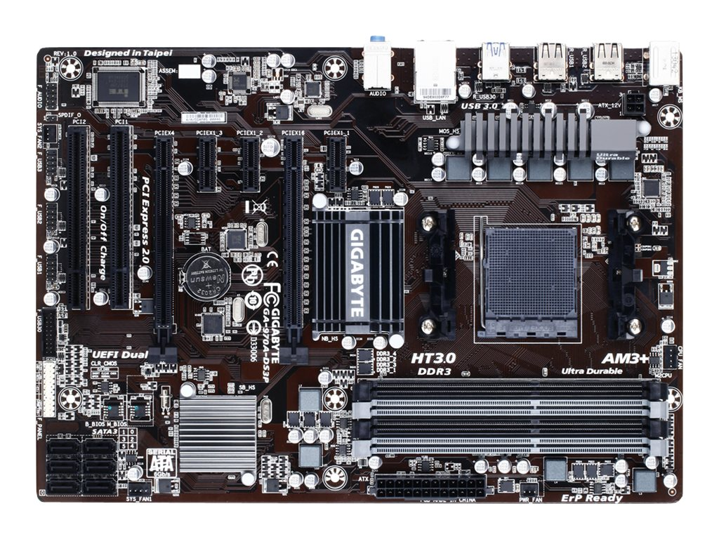 Gigabyte Technology GA-970A-DS3P Image 1