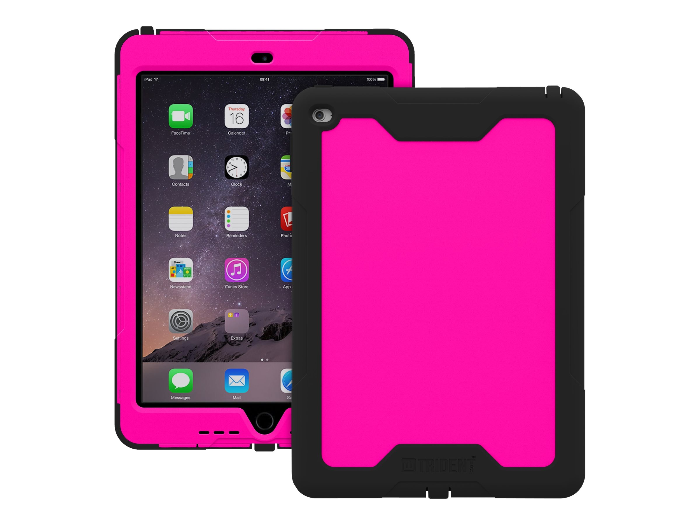 Trident Case 2015 Cyclops Case for iPad Air 2, Pink, CY-APIPA2-PK000, 19013688, Carrying Cases - Tablets & eReaders