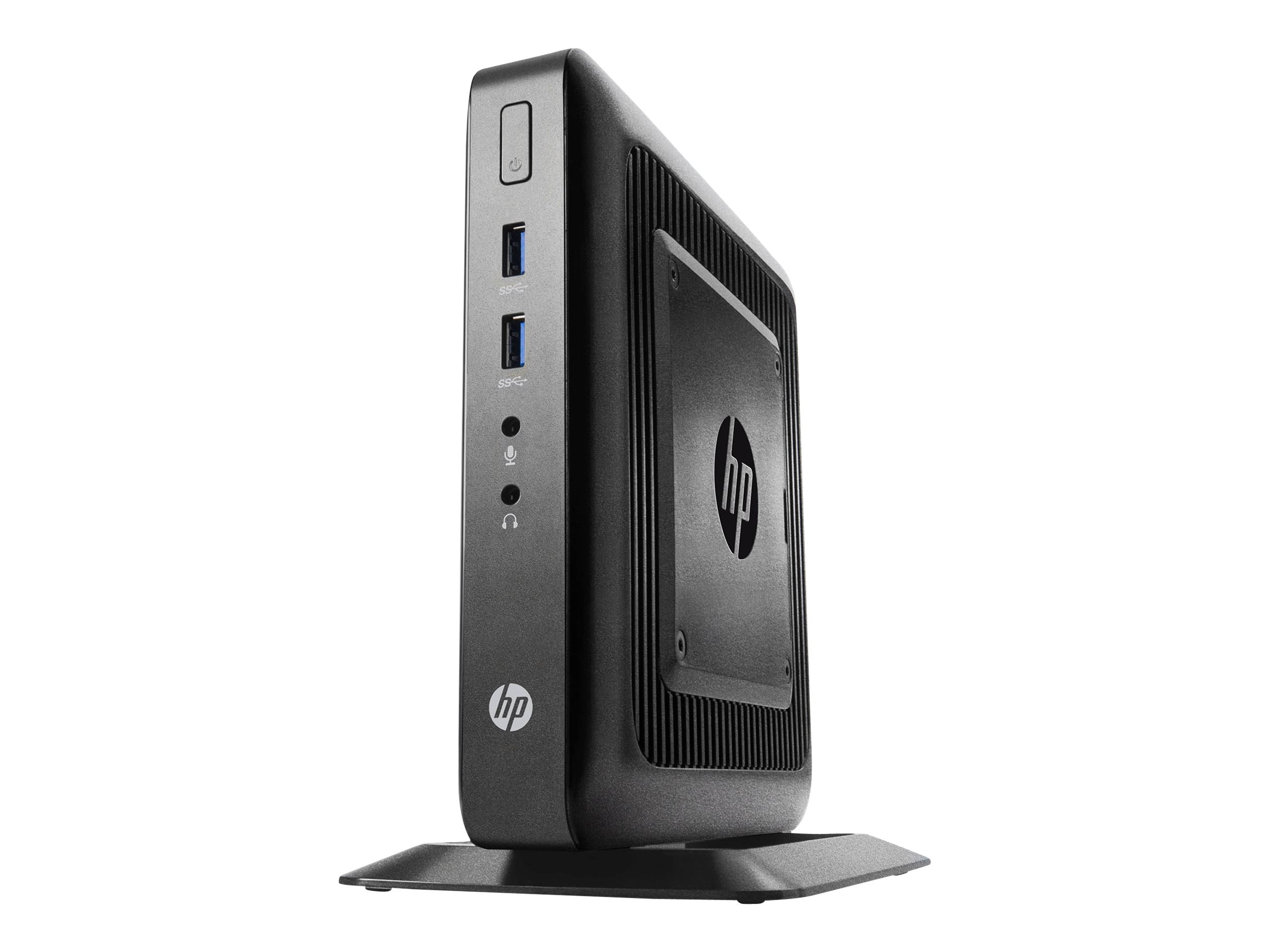 HP t520 Flexible Thin Client AMD DC GX-212JC 1.2GHz 4GB RAM 8GB Flash GbE agn BT SmartZero, J6D57UT, 24059091, Thin Client Hardware