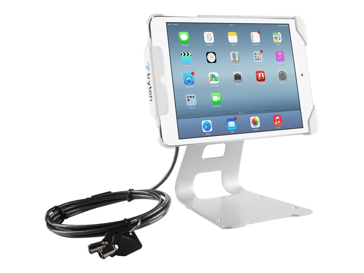 Tryten Secure iPad Air Flip Stand, White, T2417W, 31025673, Security Hardware