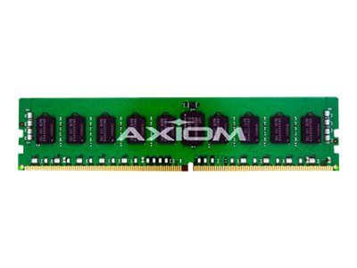 Axiom 16GB PC4-17000 288-pin DDR4 SDRAM RDIMM for Workstation Z440, J9P83AA-AX, 18105994, Memory