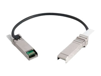 C2G 24AWG SFP+ SFP+ 10G Passive Ethernet Cable, 10m, 06131, 15006237, Cables