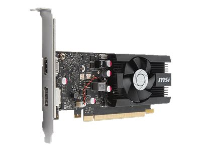 Microstar GeForce GT 1030 PCIe 3.0 Overclocked Graphics Card, 2GB GDDR5, G10302PC