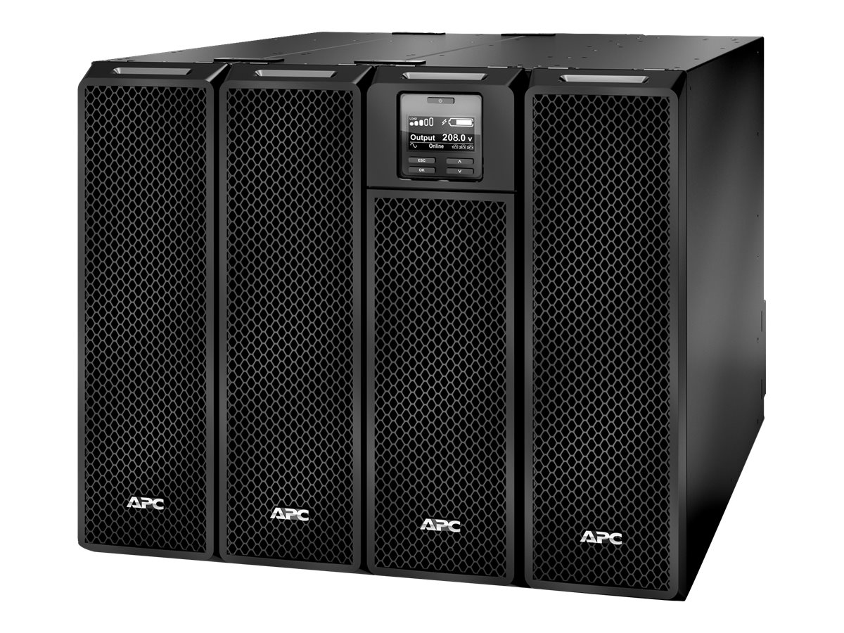 APC Smart-UPS SRT 10kVA 10kW 208V HW Input (29) Outlets (2) 208 240V to 120V 5kVA Step-Down Transformers, SRT10KXLT-5KTF2