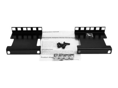 StarTech.com Rail Depth Adapter Kit for Server Racks, 2U, RDA2U