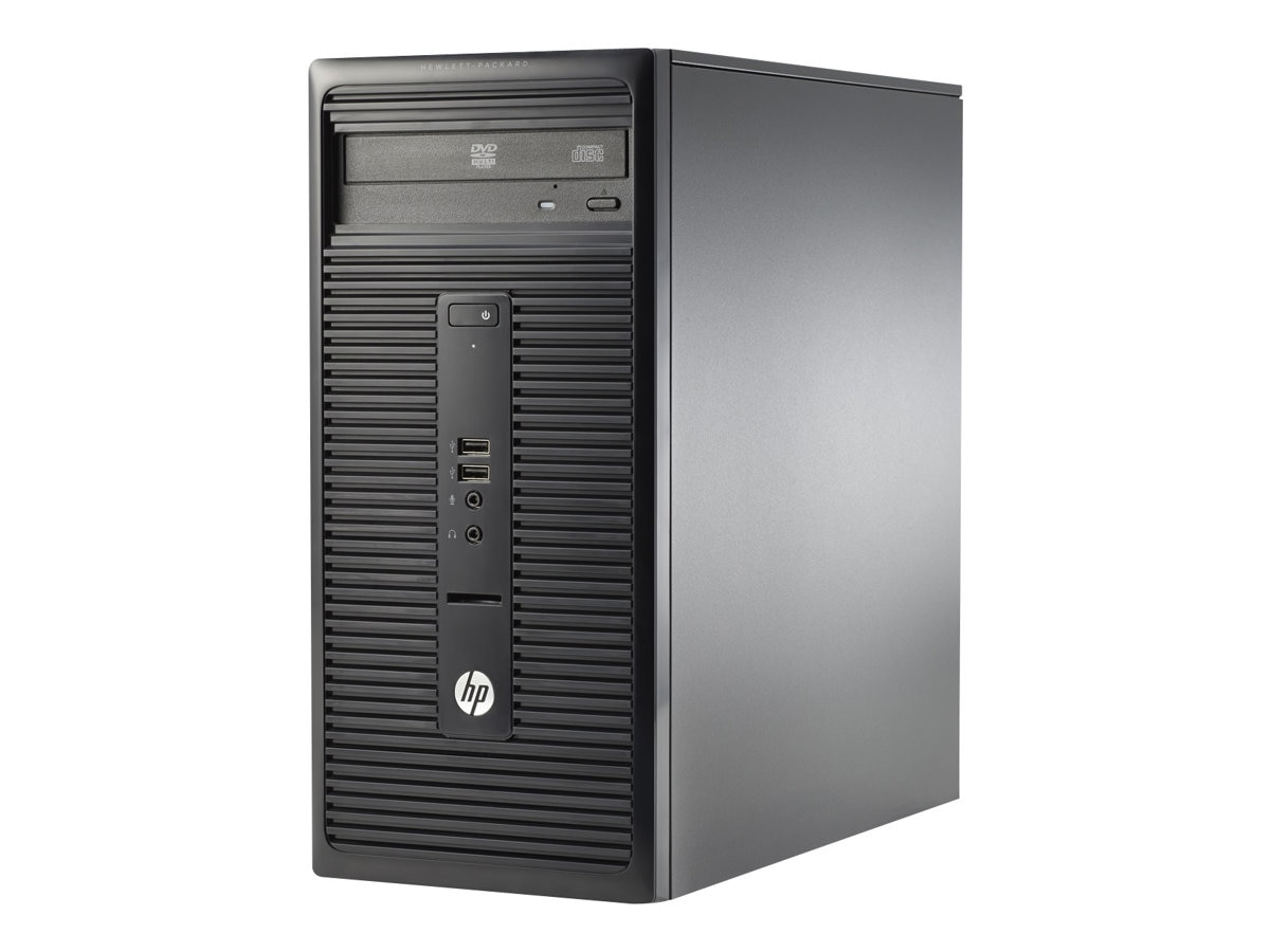 HP 280 G1 3.7GHz Core i3 4GB RAM 500GB hard drive, P0C87UT#ABA
