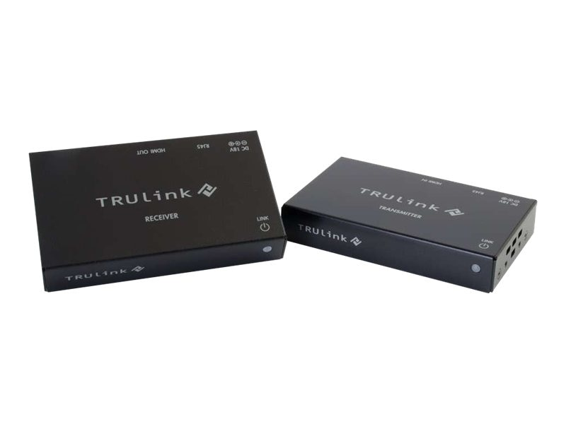 C2G TruLink HDMI over Cat5 Extender Box Transmitter to Box Receiver Kit