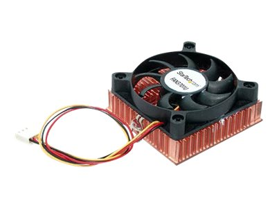 StarTech.com Copper Heatsink and Cooling Fan, 1U, 6cm, Pentium III Celeron, FAN3701U, 263480, Cooling Systems/Fans