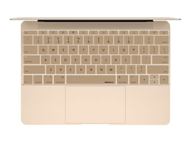 Macally Keyboard Cover, Gold, KBGUARDMBGD