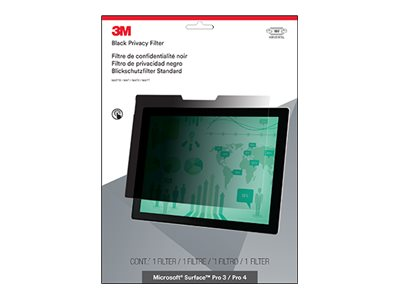 3M Privacy Filter for Surface Pro 3 Pro 4, Landscape, PFTMS001