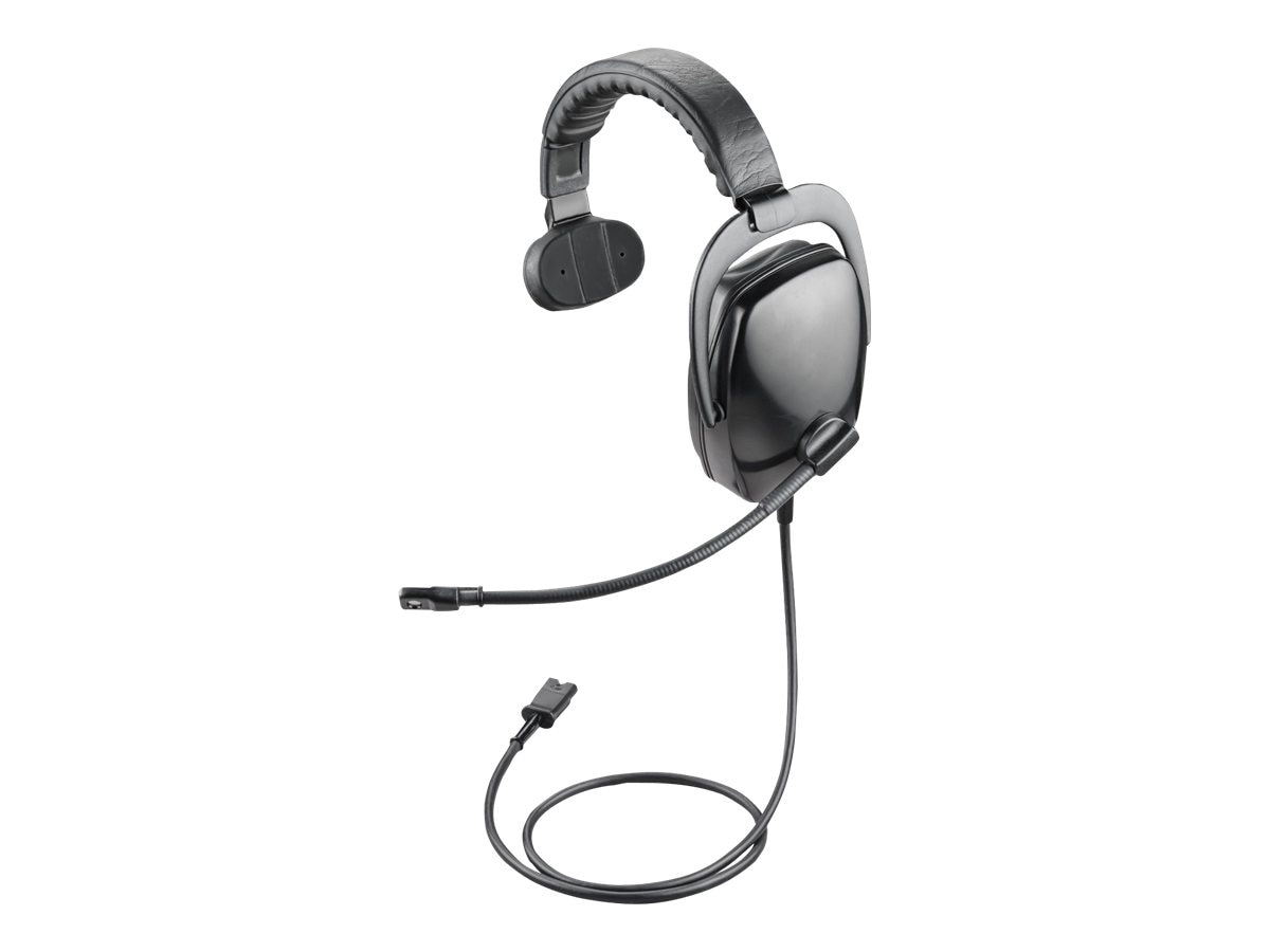 Plantronics Ruggedized Dynamic Headset with H Series Quick Disconnect