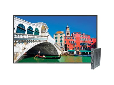 NEC 46 V463 Full HD LED-LCD Display, Black with Integrated Digital Media Player, V463-DRD