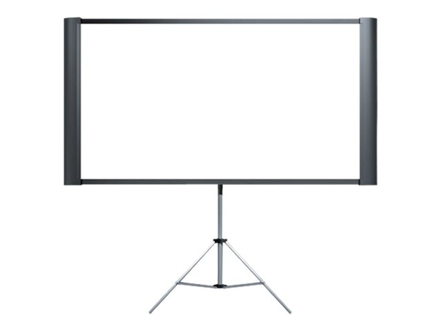 Epson Duet Portable or Wall Mountable Projector Screen (opens to Standard or Widescreen), ELPSC80, 7050107, Projector Screens