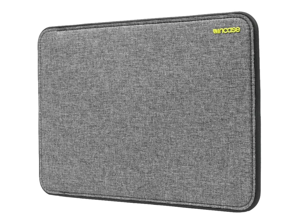 Incipio Incase Icon Sleeve with Tensaerlite for 13 MacBook Pro Retina, Heather Gray Black, CL60647