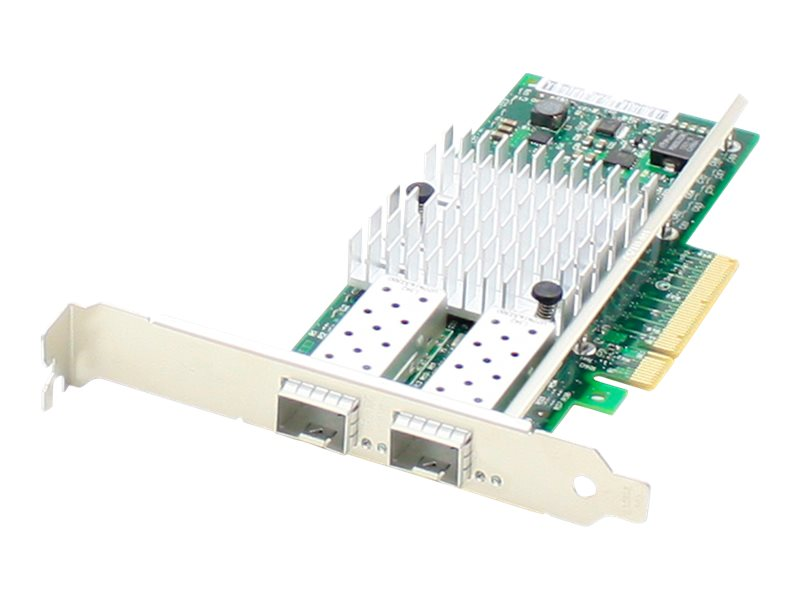 Add On 10Gbs Dual Open SFP+ Port PCIe x8 NIC Solarflare