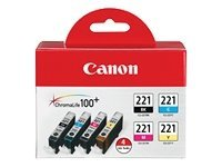 Canon CLI-221 4-Color Pack