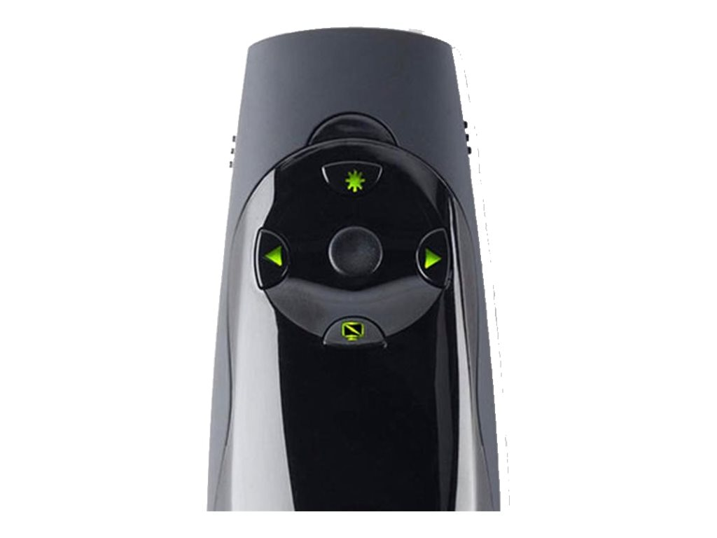 Kensington K72426AM Wireless Presenter Expert with Cursor Control, Backlit Joystick and Green Laser Pointer, K72426AM, 15063274, Remote Controls - Presentation