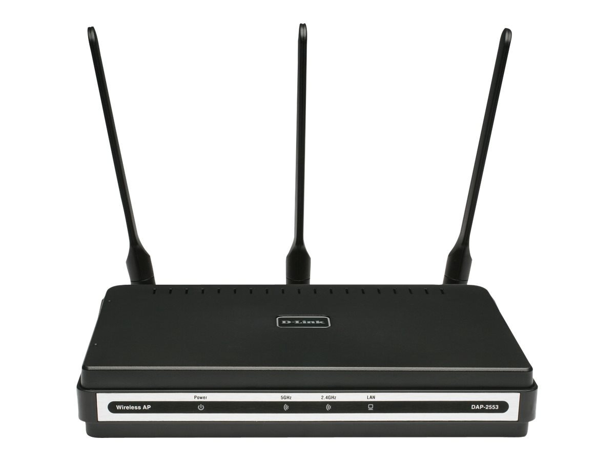 D-Link AirPremier N Dual Band PoE Access Point, DAP-2553