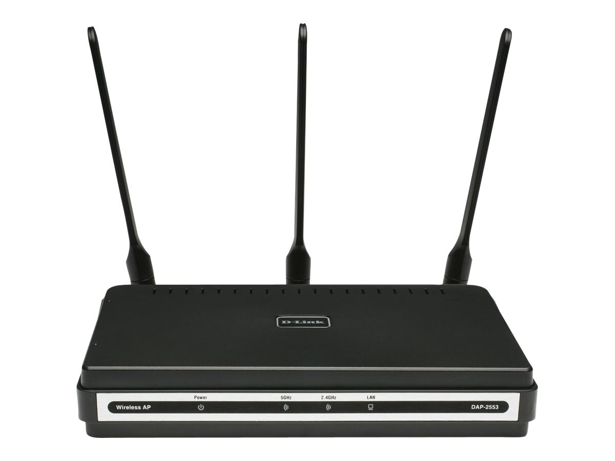 D-Link AirPremier N Dual Band PoE Access Point, DAP-2553, 9344125, Wireless Access Points & Bridges