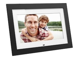 Aluratek 10 Digital Photo Frame, ADMPF410T, 31757170, Digital Picture Frames