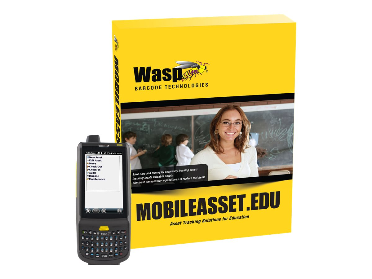 Wasp MobileAsset.EDU Professional with HC1 (5-user), 633808927745, 17411068, Portable Data Collector Accessories