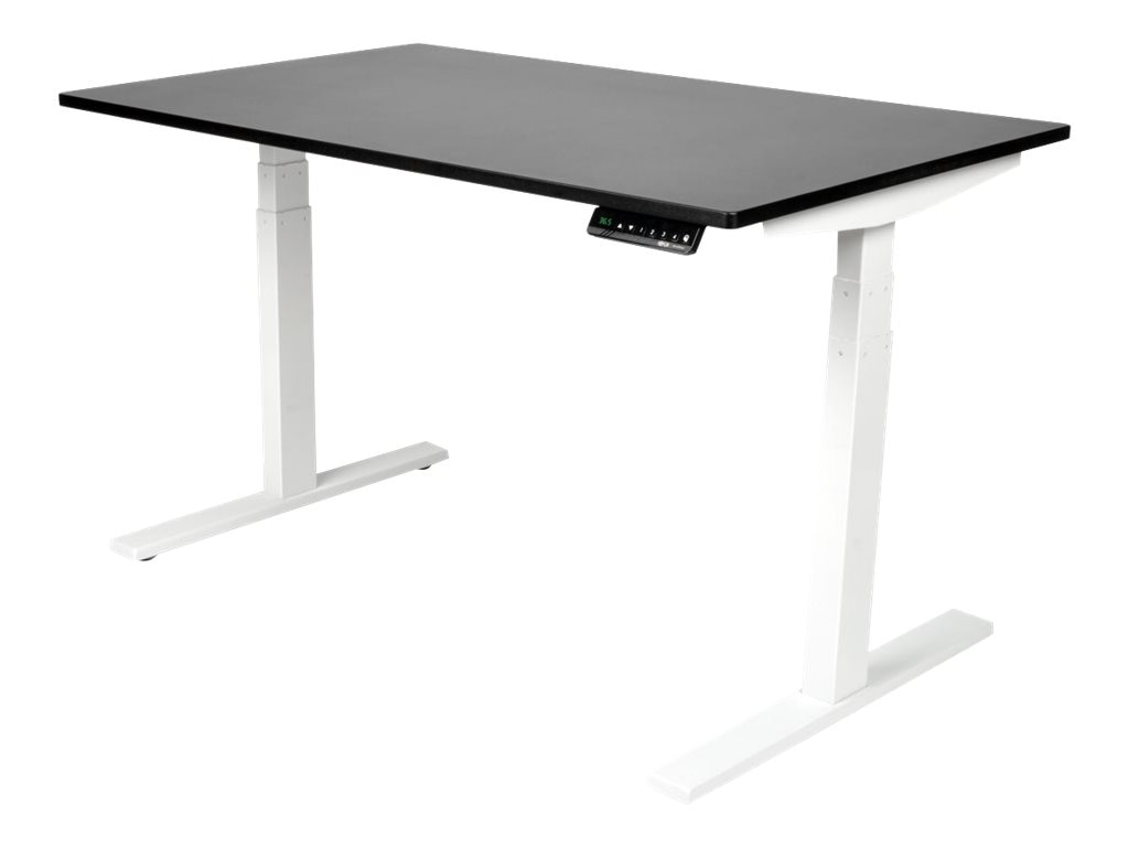 Tripp Lite Sit Stand Adjustable Electric Desk Base for WorkWise Standing Desk, White, WWBASE-WH