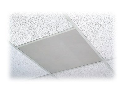 ACD2X2 Drop-In Ceiling Speakers w  Bright White Grills