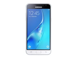 Samsung Galaxy J3 16GB Smartphone - White (Unlocked), SM-J320AZWAXAR, 32110191, Cellular Phones