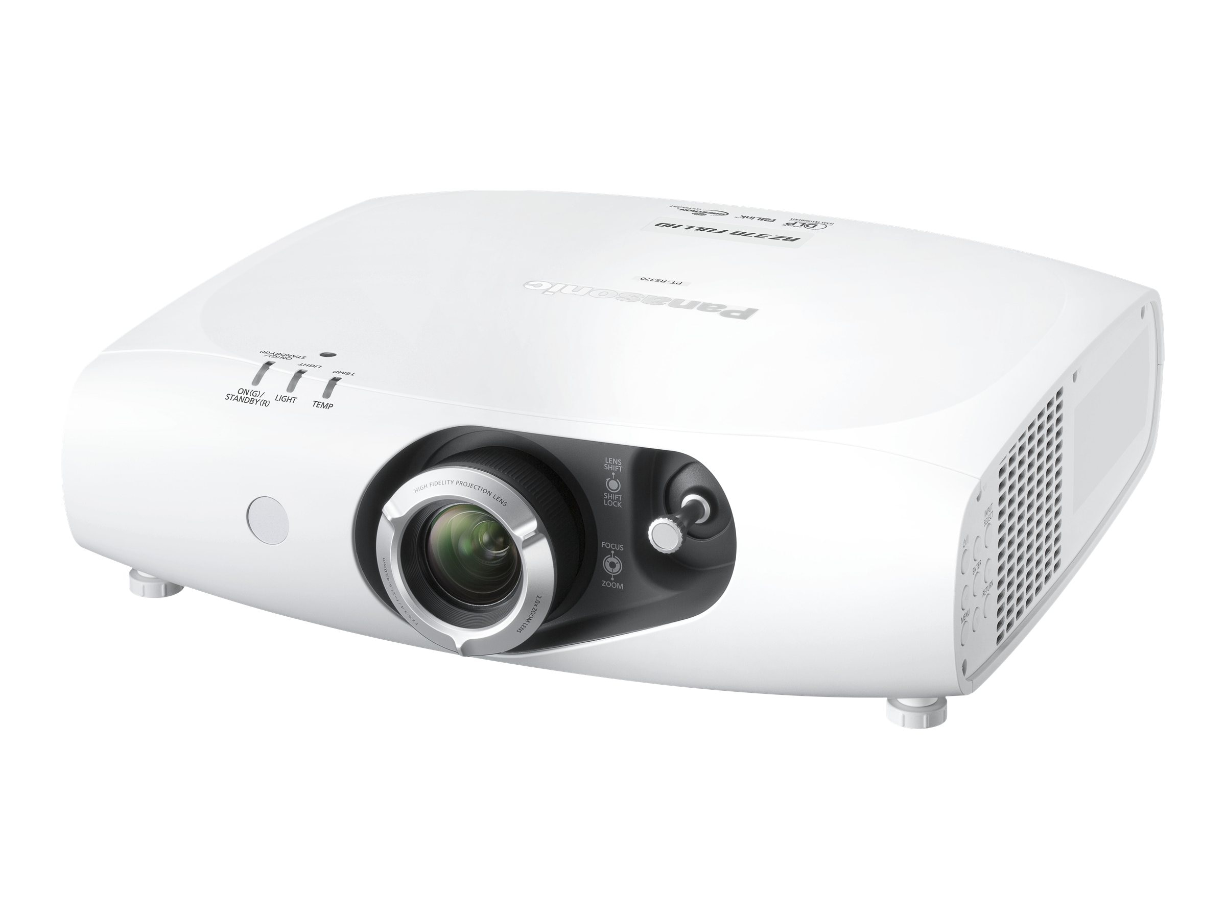 Panasonic PTRZ370U Full HD Projector, 3500 Lumens