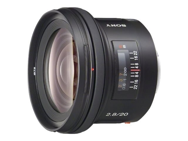 Sony 20mm f2.8 Wide-Angle Lens