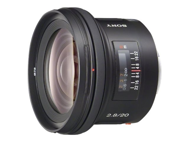 Sony 20mm f2.8 Wide-Angle Lens, SAL20F28, 6879511, Camera & Camcorder Lenses & Filters