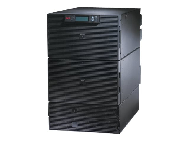APC Smart-UPS RT 20kVA 16kW 16U RM, 10kVA Step-down Transformer, 208V Input 120-208V Output (11) Outlets, SURT20KRMXLT-1TF10K, 10124091, Battery Backup/UPS