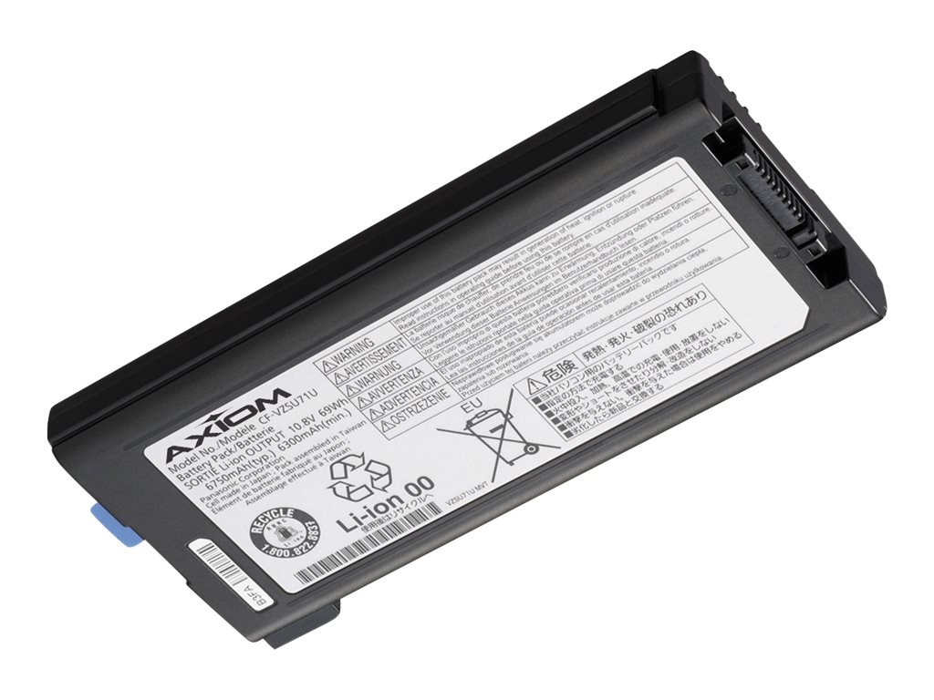 Axiom Li-Ion 9-Cell Replacement Battery for Panasonic CF-VZSU71U, CF-VZSU71U-AX, 30720746, Batteries - Notebook