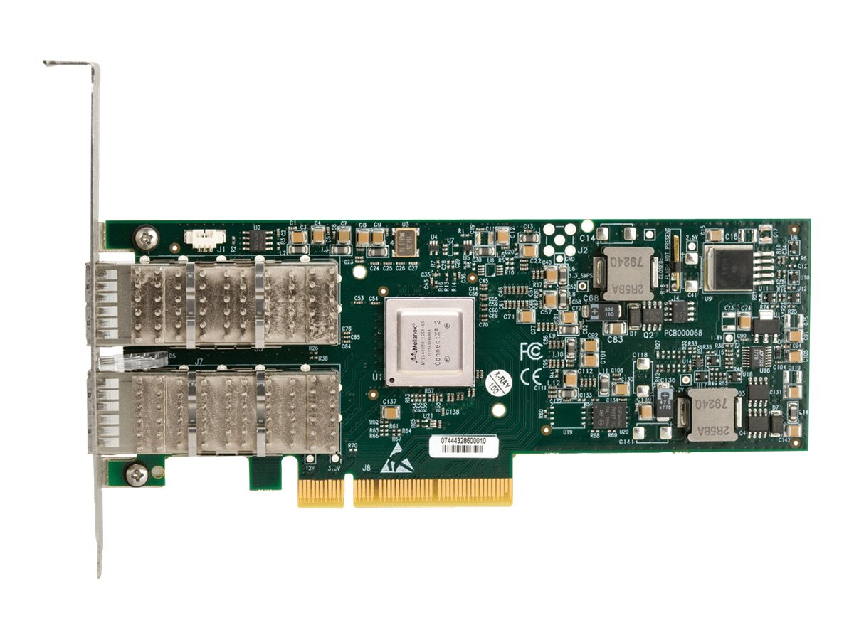 HPE InfiniBand QDR EN 10Gb Dual Port 544M Adapter
