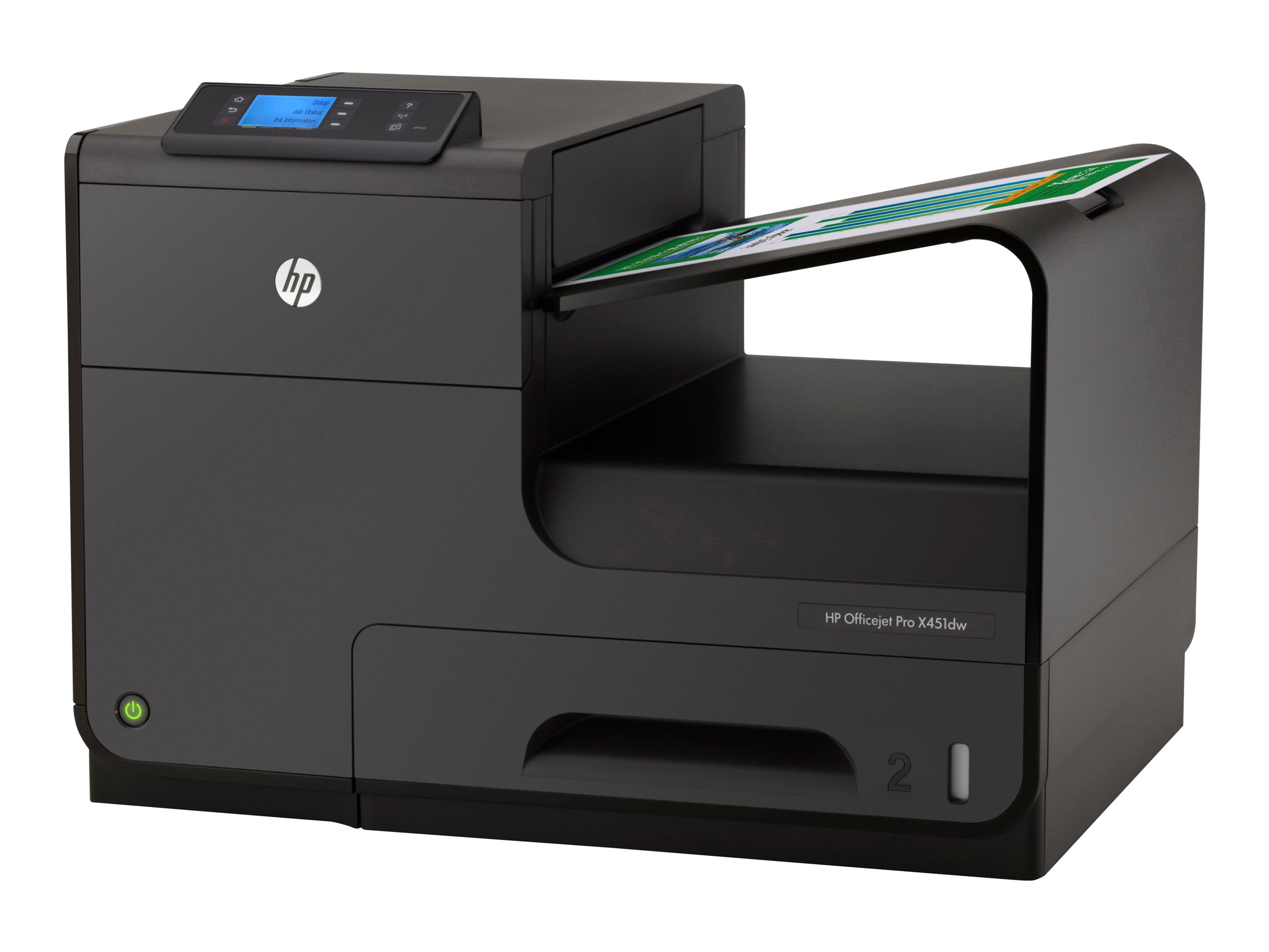 HP Officejet Pro X Series X451dw Color Printer, CN463A#B1H, 15056808, Printers - Ink-jet