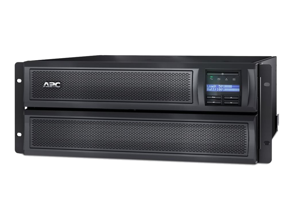 APC Smart-UPS X 3000VA 2700W 208-240V LCD 4U Rack Tower Extended Runtime UPS (10) Outlets USB Web SNMP, SMX3000HVNC, 15999312, Battery Backup/UPS