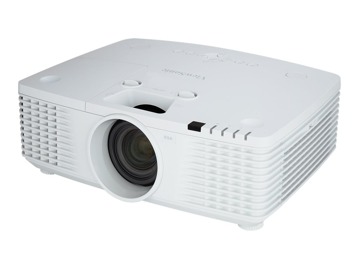 ViewSonic PRO9510L XGA DLP Projector with Dual Speakers, 6200 Lumens, White