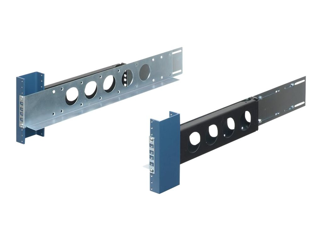 Innovation First Rackmount Rails 2U Generic Non-Sliding for 19in 2-Post Racks, 2UKIT-009, 5897435, Rack Mount Accessories