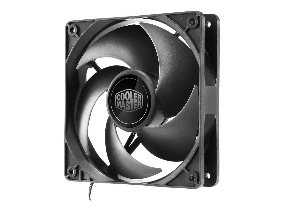 Cooler Master Silencio FP 120 PWM 1400RPM Fan, Black
