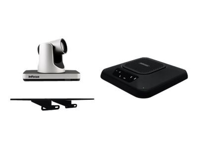 InFocus Videoconferencing Accessory Kit w PTZ Camera, Speakerphone & Top Camera Shelf, INA-VCPACK1, 21402949, Audio/Video Conference Hardware