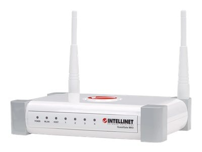 Intellinet Wireless300N Hotspot Gateway, 300 MBPS MIMO, 4-PORT 10 100 MBPS LAN