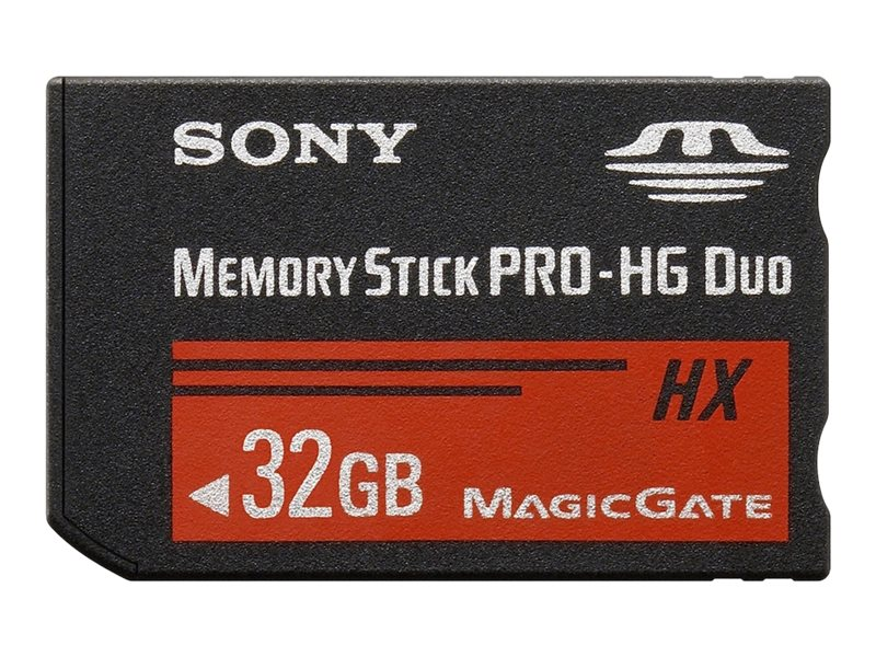 Sony 32GB Memory Stick PRO-HG Duo HX, MSHX32B/MN, 15409298, Memory - Flash