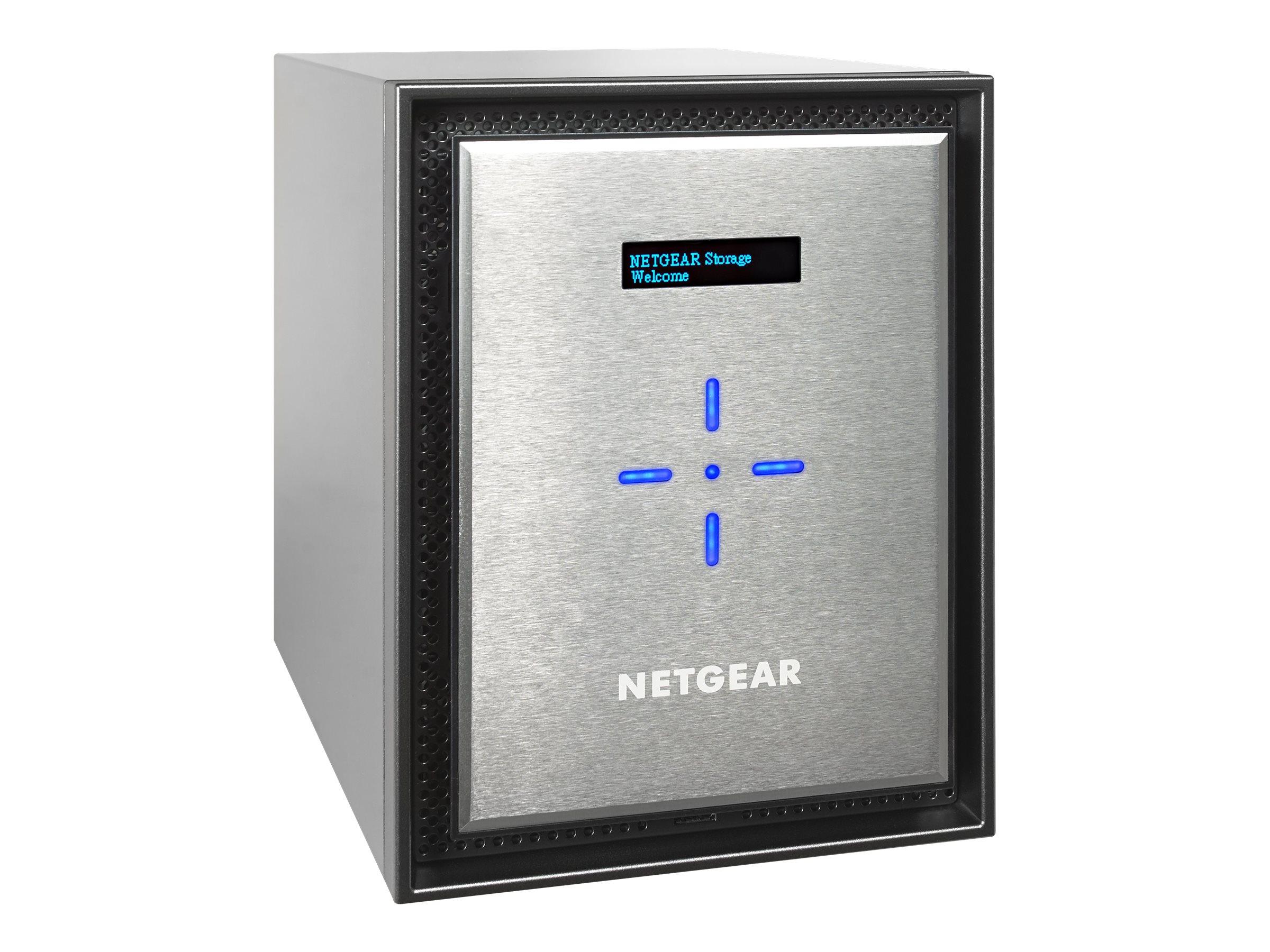 Netgear ReadyNAS 626X 6-Bay Network Storage w  Xeon Quad-Core Server Processor & 6X4TB Hard Drives, RN626XE4-100NES