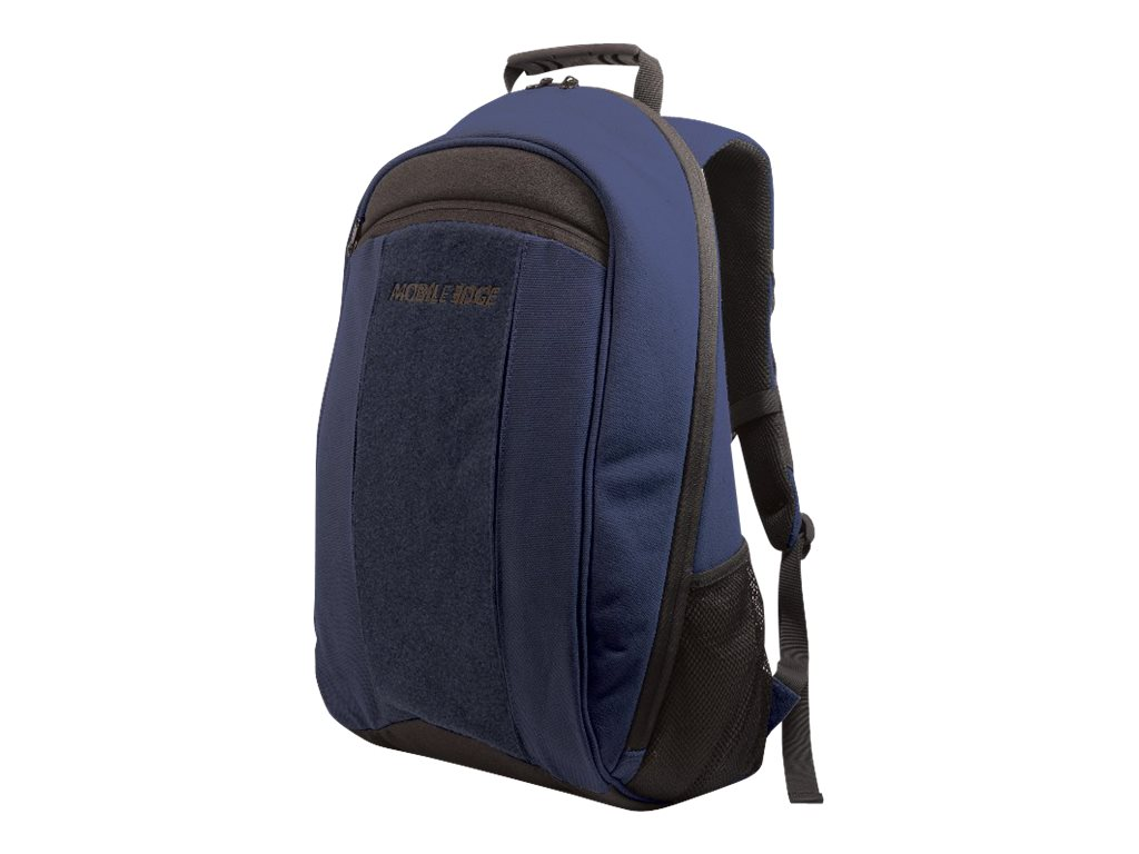 Mobile Edge 17.3 Eco Friendly Canvas Backpack, Navy, MECBP3, 11663205, Carrying Cases - Notebook