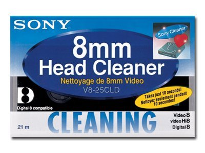 Sony Cleaning Cassette 8mm, V825CLD, 30916061, Tape Drive Cartridges & Accessories