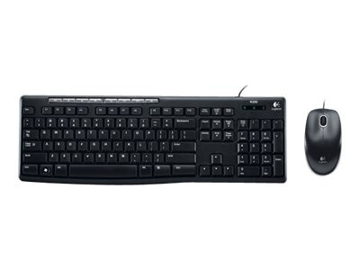 Logitech Media Combo MK200, 920-002714, 11590819, Keyboard/Mouse Combinations
