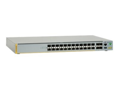 Allied Telesis 24-Port 10 100 1000T Stackable Gigabit Edge Switch w License