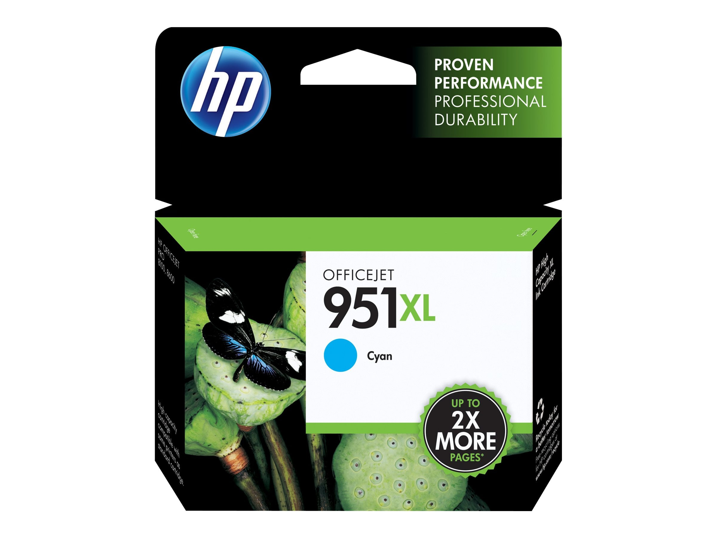HP 951XL (CN046AN) High Yield Cyan Original Ink Cartridge