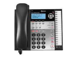 AT&T 4-Line Corded Caller ID Speakerphone, Black, 1070, 9760858, Telephones - Business Class